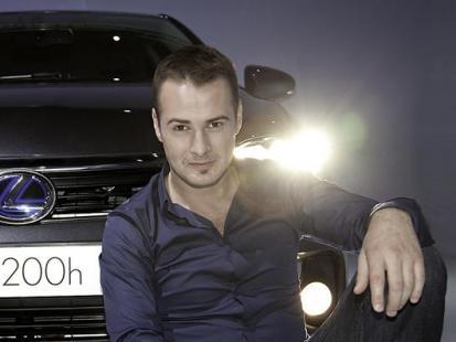 Paweł Małaszyński ambasadorem nowego Lexusa – CT 200h