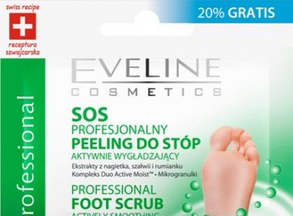 Peeling i maska do stóp - Eveline Cosmetics