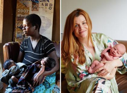 Pełne miłości zdjęcia dumnych mam i ich JEDNODNIOWYCH dzieci. To trzeba zobaczyć!