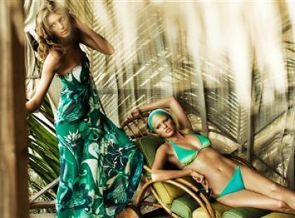 Pełnia lata w strojach kąpielowych H&M