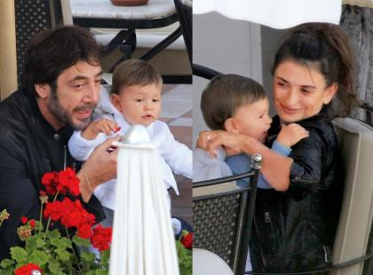 Penelope Cruz i Javier Bardem - Lunch z Leo