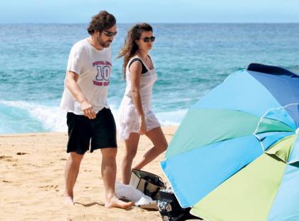 Penelope Cruz i Javier Bardem na rajskich wakacjach