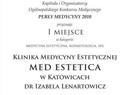 Perła Medycyny dla Med Estetica