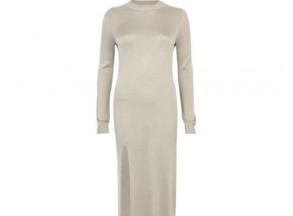 Piaskowa sukienka - Rihanna dla River Island