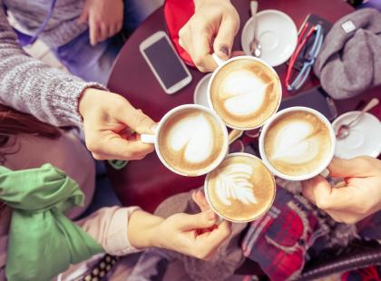 Picie kawy wydłuża życie?