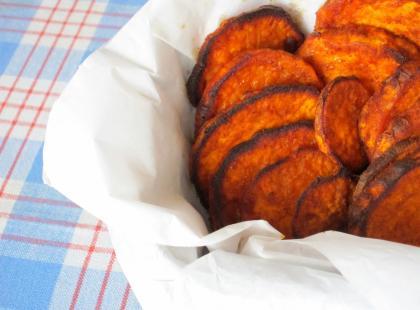 Pieczone bataty - Kasia gotuje z Polki.pl