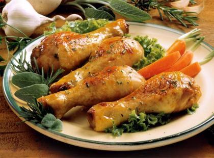 Pieczone pałki kurczaka w majonezie