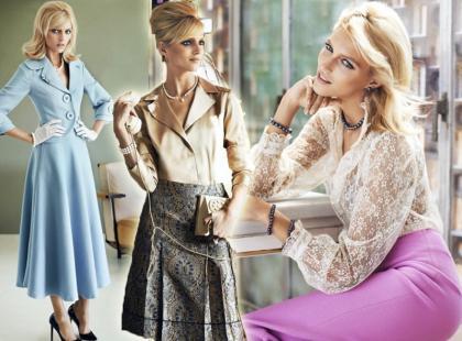 Piękna Anja Rubik i perły w nowej kampanii Apart