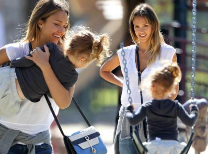 Piękna Jessica Alba ze swoją córką!