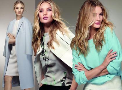 Piękna Rosie Huntington-Whiteley ambasadorką nowej kolekcji M&S