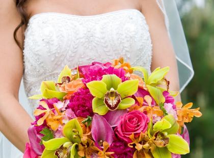 Piękne bukiety ślubne