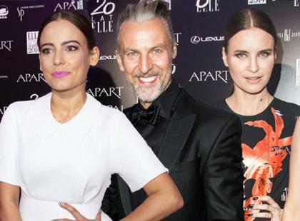 Piękne gwiazdy i znani projektanci mody na rozdaniu nagród magazynu