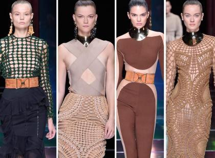 Piękne Polki i światowe top modelki na pokazie Balmain