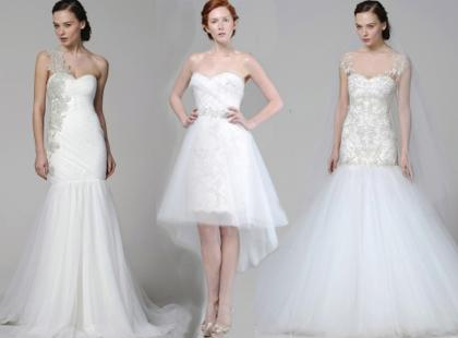Piękne suknie ślubne Marchesa wiosna-lato 2013