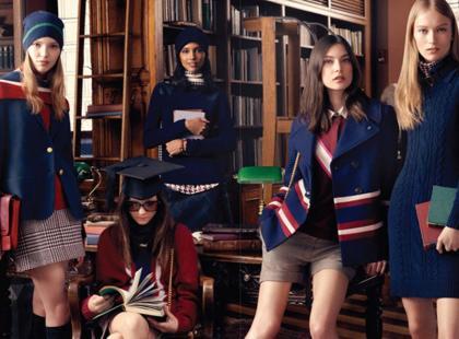 Piękni, młodzi i bogaci, czyli jesienna moda w stylu Hilfigera