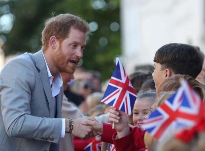 Piękny gest księcia Harry'ego! Wsparł chłopca, którego spotkała tragedia