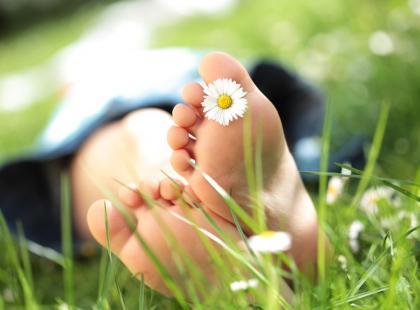 Pielęgnacja stóp na wiosnę