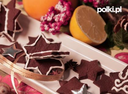 Pierniczki czekoladowe z cytrusową nutą