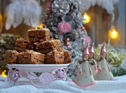 Piernik z dżemem i białą czekoladą - rarytas nie tylko od święta!