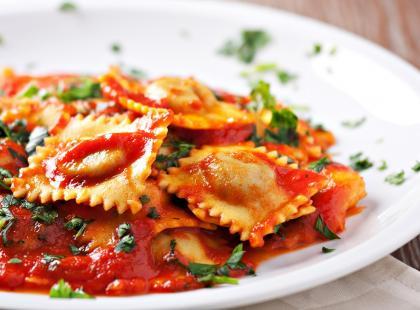 Pierogi włoskie z mięsem