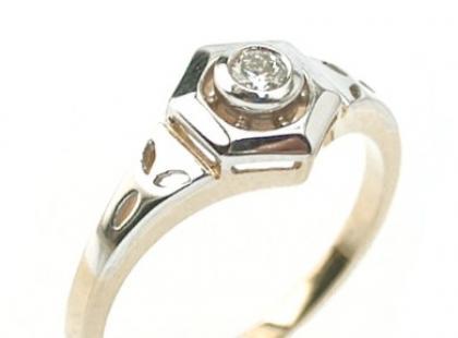Pierścionki zaręczynowe z brylantem - Diamondscenter.net