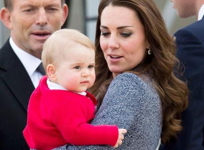 Pierwsza duża okładka synka księżnej Kate. Mały rośnie jak na drożdżach