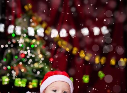 Pierwsze Boże Narodzenie z dzieckiem