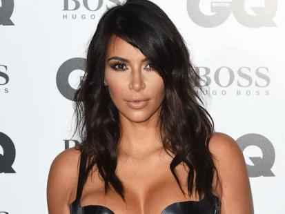 Pierwsze ciążowe selfie Kim Kardashian w lustrze! Brzuszek rośnie