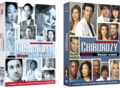 """Pierwsze cztery sezony """"Chirurgów"""" na DVD!"""