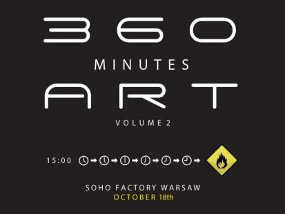 Pierwszy w Polsce projekt 360 Minutes Art