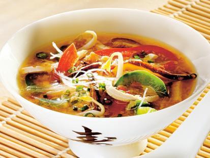 Pikantna zupka chińska - przepis