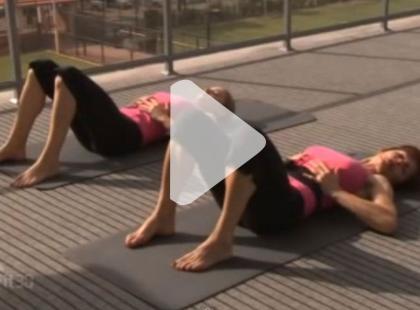 Pilates dla początkujących [video]