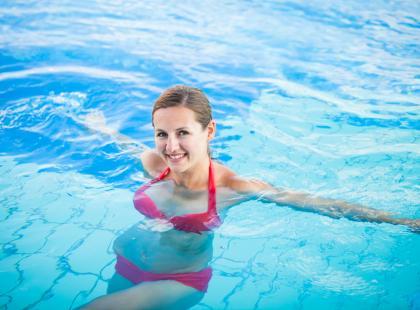 Pilates w basenie