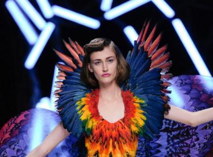 Pióra haute couture