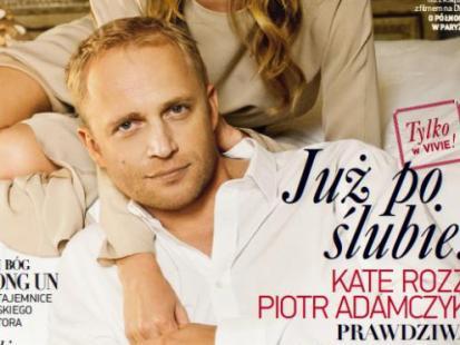Piotr Adamczyk i Kate Rozz pobrali się!