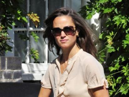 Pippa Middleton pod obstrzałem paparazzich