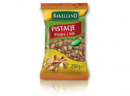 Pistacje Pieprz & Sól – intensywne oblicze smaku od Bakalland