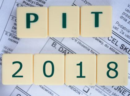 PIT 2018 - wszystko, co musisz wiedzieć