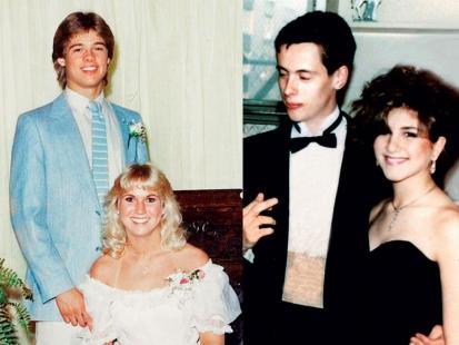 Pitt, Obama, Zellweger, Lady Gaga, Aniston - Ich pierwszy bal