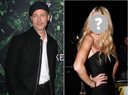 Pitt pociesza się w ramionach znanej modelki. 53-latka rozwodzi się z mężem