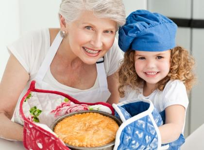 Placek z jabłkami jak u babci