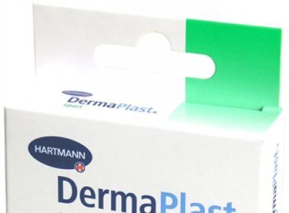 Plastry DermaPlast na skaleczenia i odciski