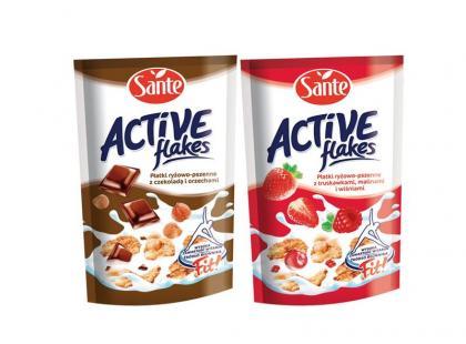 Płatki Active flakes – bądź fit dzięki Sante!