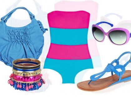 Plażowe stylizacje na lato 2010
