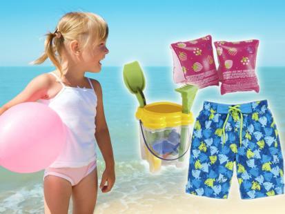 Plażowy niezbędnik dla dziecka!