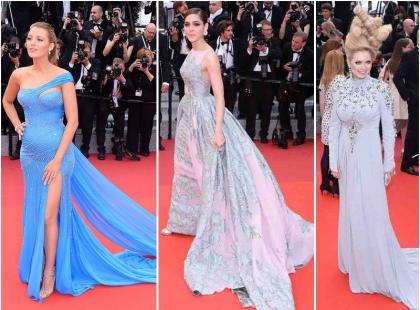 Plejada księżniczek w bajecznych kreacjach na premierze filmu w Cannes