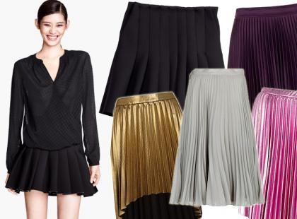 Plisy są hitem! Przegląd modnych spódnic