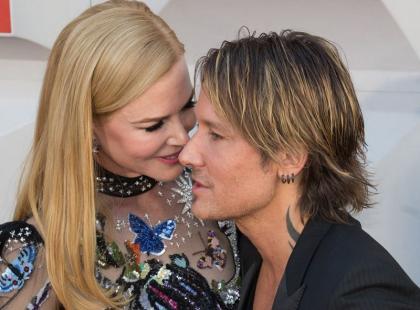Płomień ich miłości nie gaśnie. Wpatrzeni w siebie Nicole Kidman i Keith Urban