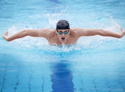 Pływanie a dieta