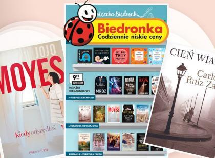 Po książki tylko do Biedronki! Bestsellery w kieszonkowym wydaniu i bardzo dobrej cenie!